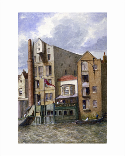 Anchor and Hope Inn, New Crane Stairs, Shadwell, London by JT Wilson