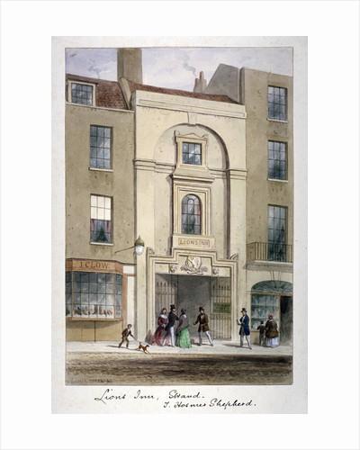 Lyon's Inn, Strand, Westminster, London by Thomas Hosmer Shepherd