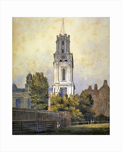 Church of St George in the East, Stepney, London by James Basire I