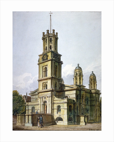 Church of St George in the East, Stepney, London by John Coney