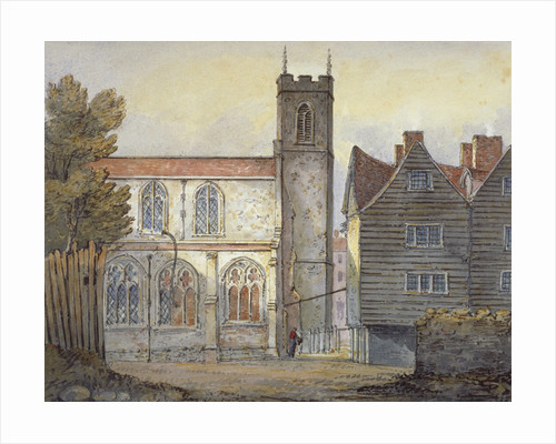 Church of St Katherine by the Tower, Stepney, London by William Pearson