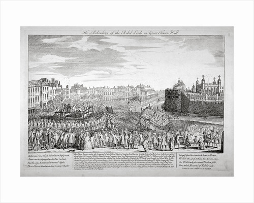 Execution on Tower Hill, London by Anonymous