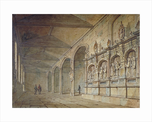 Interior of the Chapel of St Peter ad Vincula, Tower of London by John Coney