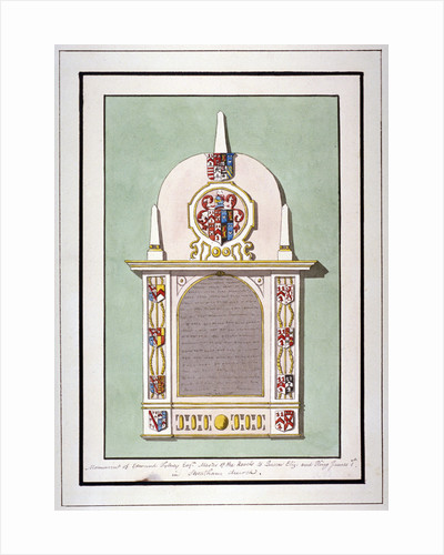 Monument to Edmund Tilney, St Leonard's Church, Streatham, London by Anonymous