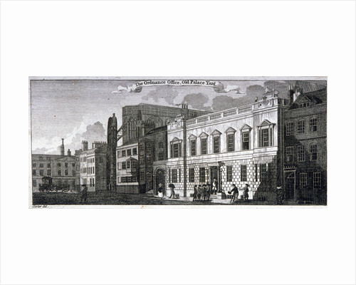 Ordnance office for the Palace of Westminster, Old Palace Yard, Westminster, London by Anonymous