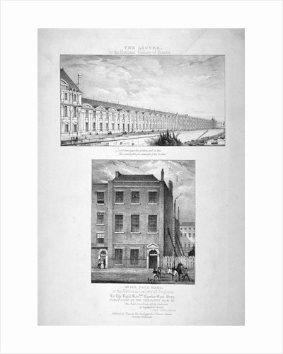 National Gallery, 100 Pall Mall, Westminster, London by Anonymous