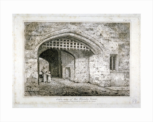 Gateway to the Bloody Tower, Tower of London by Anonymous
