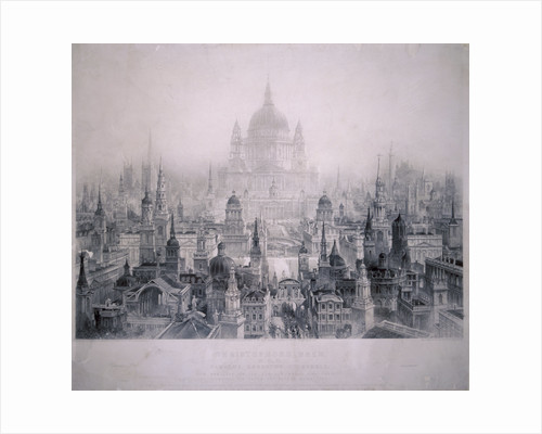Dream City of Christopher Wren's Buildings by William Richardson