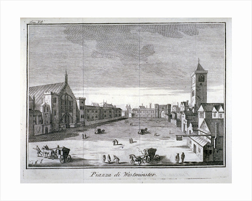 New Palace Yard, Palace of Westminster, London by Anonymous