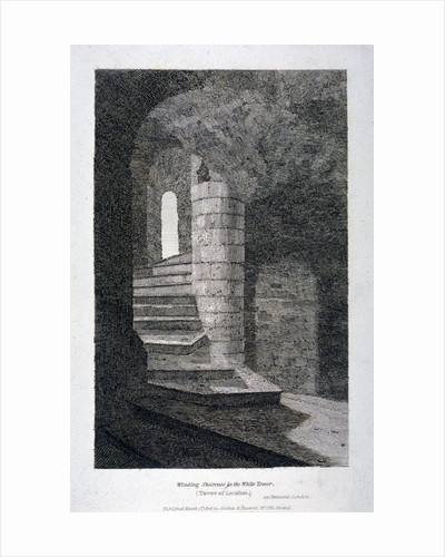 Interior of the White Tower, Tower of London by Anonymous