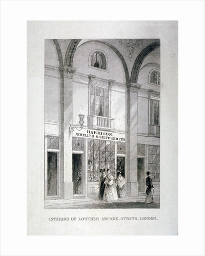 Lowther Arcade, Strand, Westminster, London by Anonymous