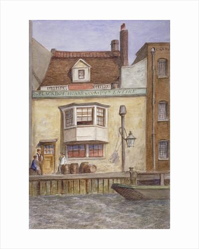 The Black Boy Inn, St Katherine's Way, Stepney, London by Unknown