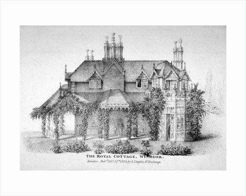 The Royal Cottage, Windsor, Berkshire by Anonymous