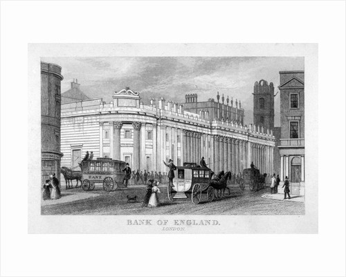 The Bank of England, City of London by Corbis