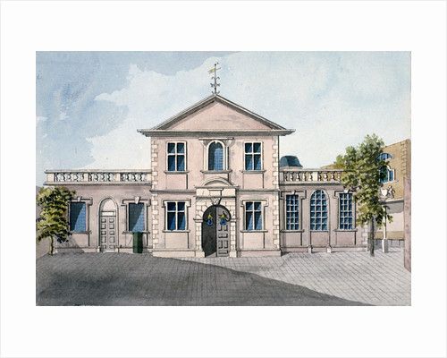 Barber Surgeons' Hall, Monkwell Street, City of London by James Brittain