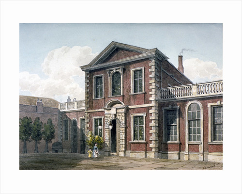 Barber Surgeons' Hall and Courtyard, City of London by George Shepherd