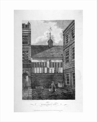Barnard's Inn, City of London by Anonymous