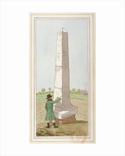Obelisk at Monken Hadley, Hertfordshire by Anonymous