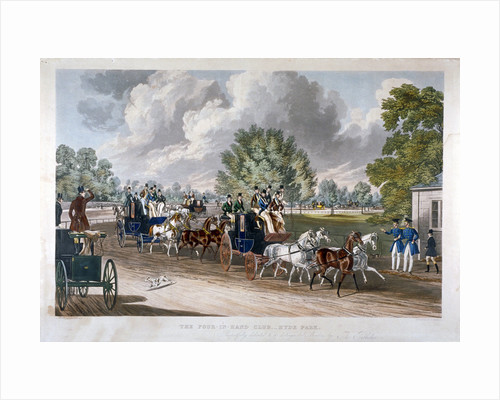 The Four-in-Hand Club, Hyde Park, London by J Harris