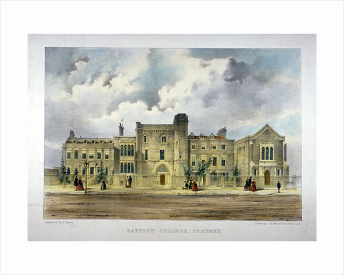 Baptist College, Stepney Green, London by R Carwright