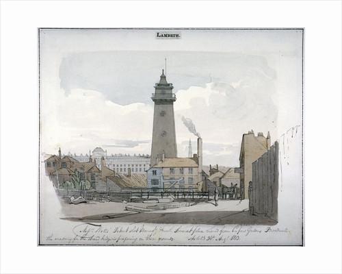 Watt's Shot Tower, Lambeth, London by Anonymous