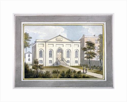 Walworth Chapel, Southwark, London by G Yates