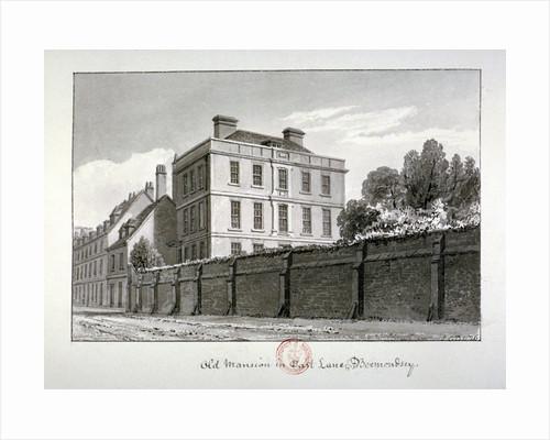 East Lane, Bermondsey, London by John Chessell Buckler