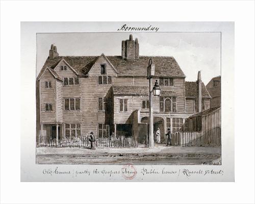 Coopers' Arms inn, Tanner Street, Bermondsey, London by John Chessell Buckler