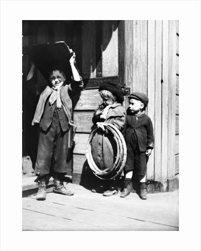 Bargee children, London by Thomas Gainsborough