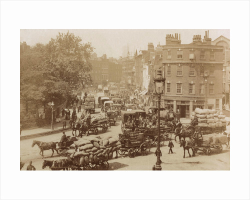 Junction of Tower Hill, Mansell Street and Tower Bridge, London, 11 June 1914. by Edward Blore