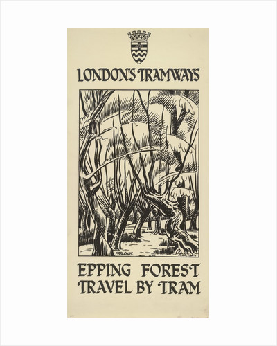 Epping Forest, Travel by Tram by FW Farleigh