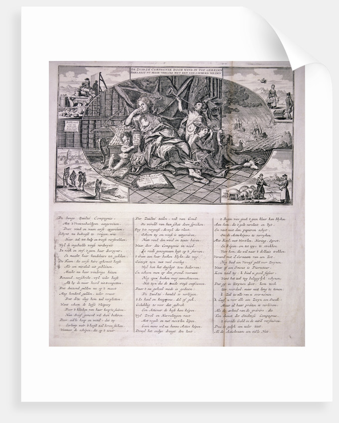 Dutch satire on the South Sea Bubble by Anonymous