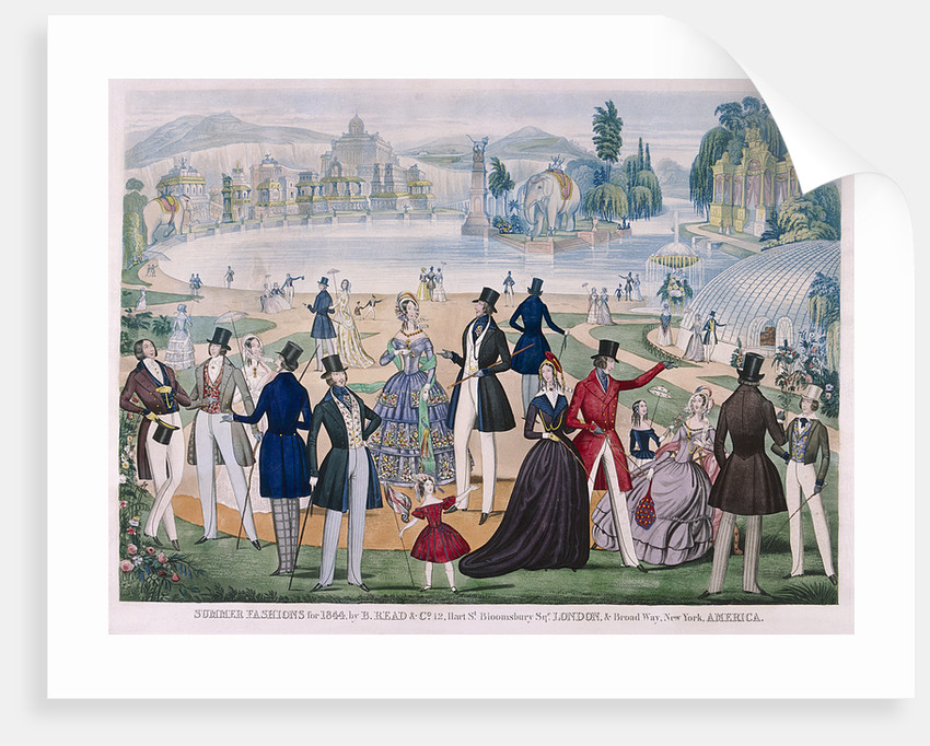 Summer Fashions for 1844 by