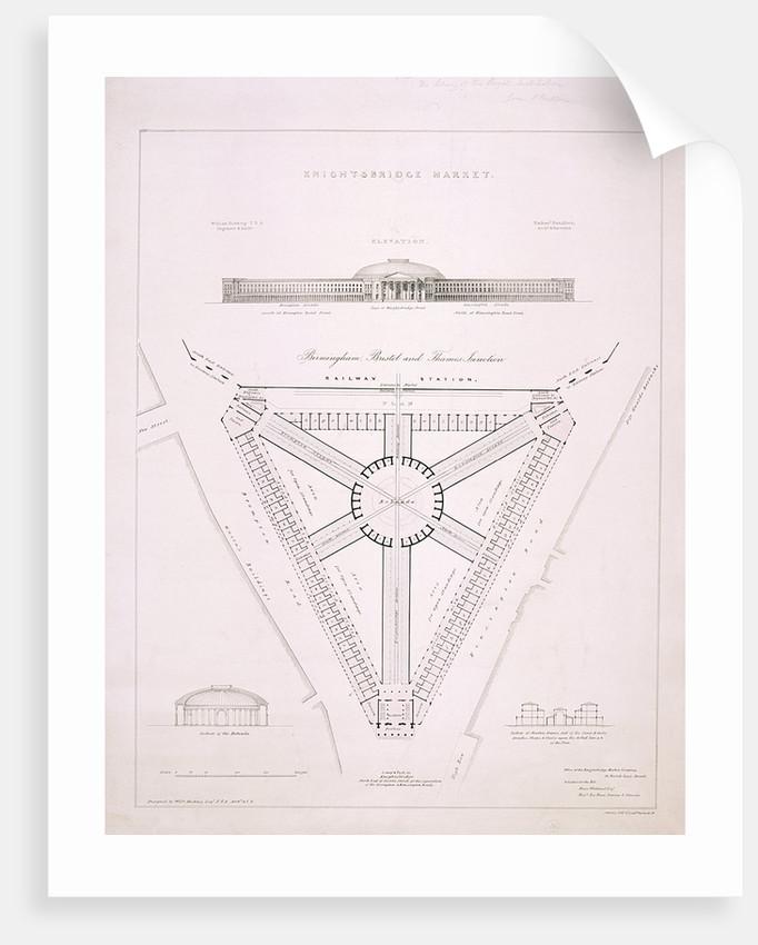 Design for Knightsbridge Market, London by JR Jobbins