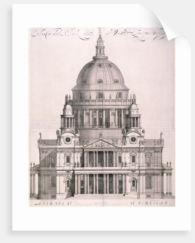 St Paul's Cathedral, London by Simon Gribelin