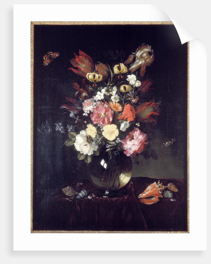 Vase and flowers by Pieter van de Venne
