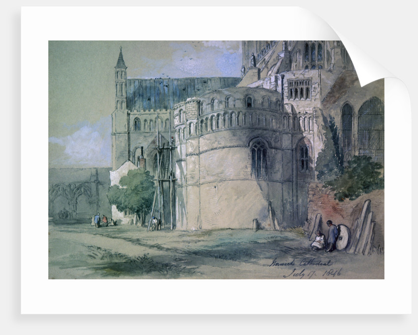 Norwich Cathedral by Sir John Gilbert
