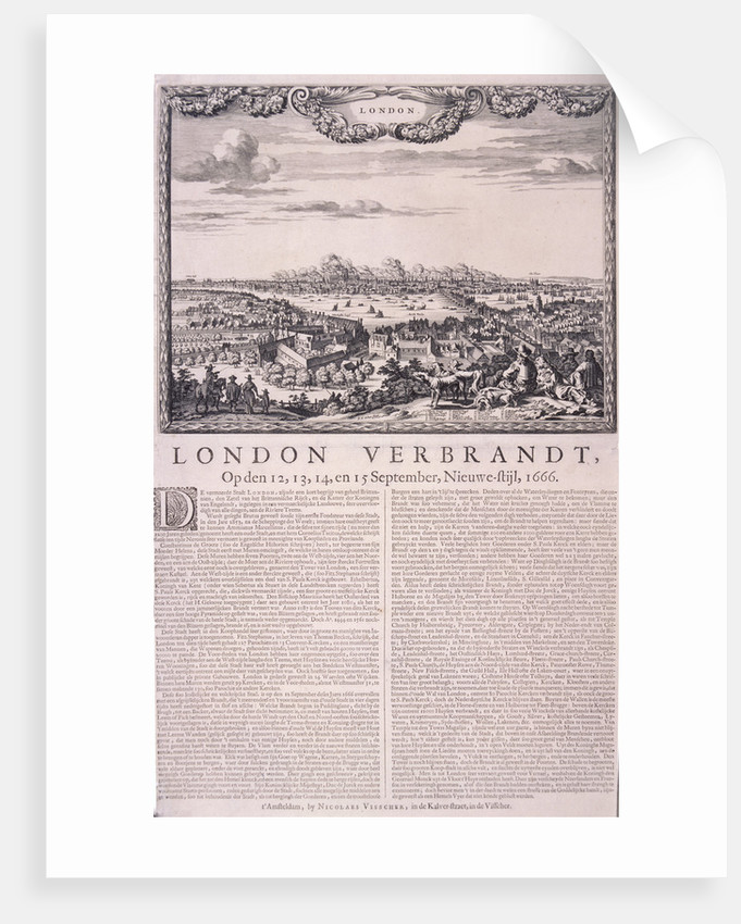 The Great Fire of London by