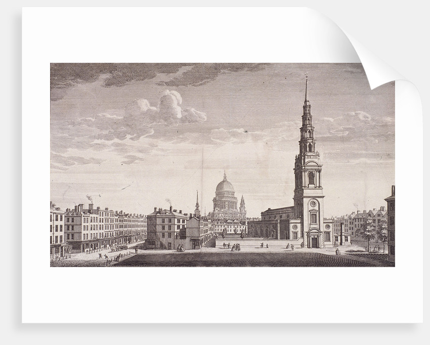 St Bride, London by