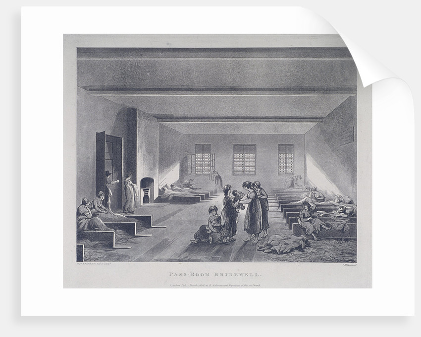 Women and Children in Bridewell's Hospital, London by John Hill