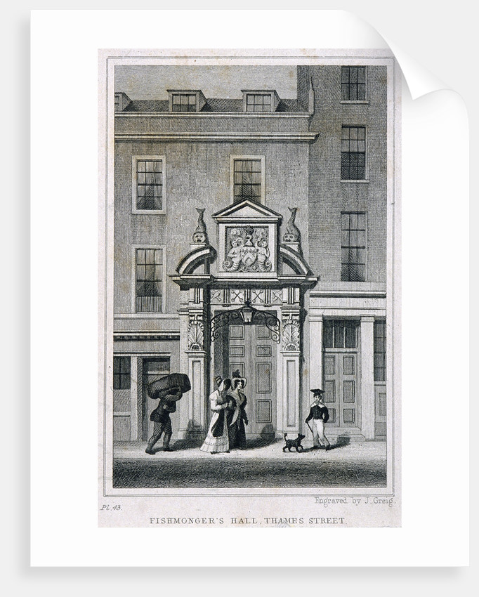 Fishmongers' Hall, Thames Street, London by
