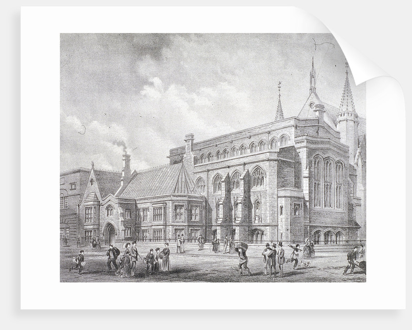 Guildhall Library, London by Sprague & Co