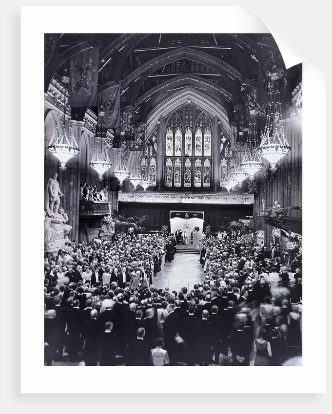 King George V and Queen Mary's Jubilee at the Guildhall, London by Anonymous