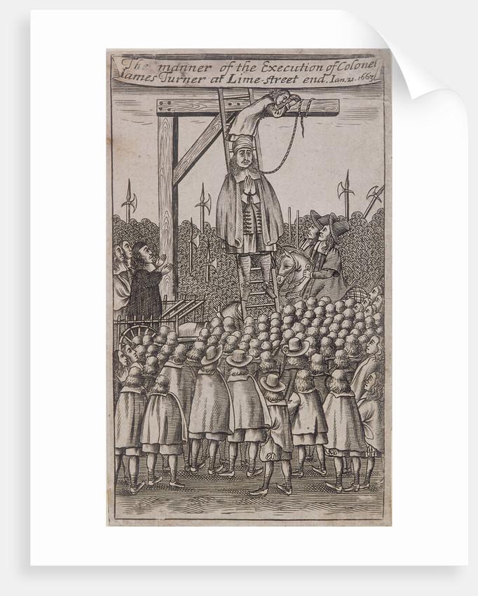 Leadenhall Street, London, (1664?) by Anonymous