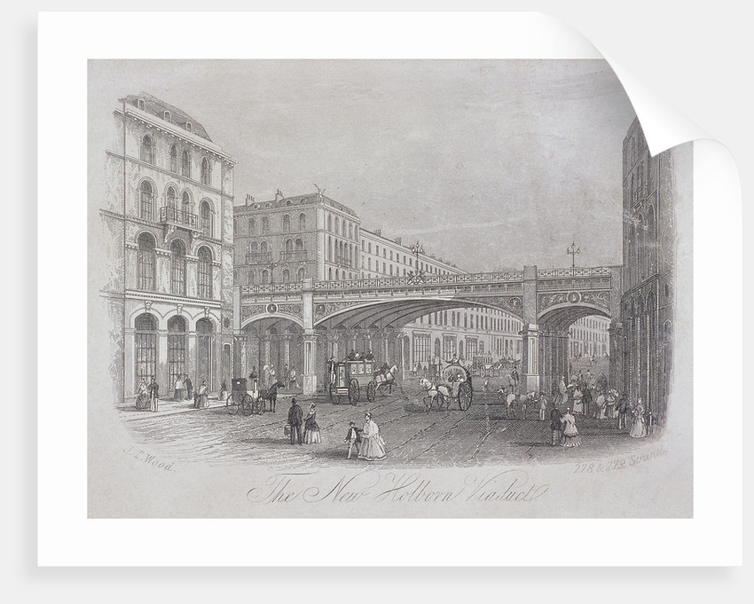 Holborn Viaduct, London by Anonymous