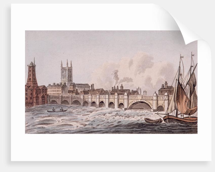 London Bridge (old), London by