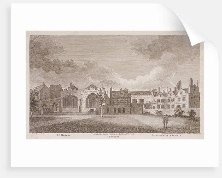 Leathersellers' Hall, London by James Peller Malcolm