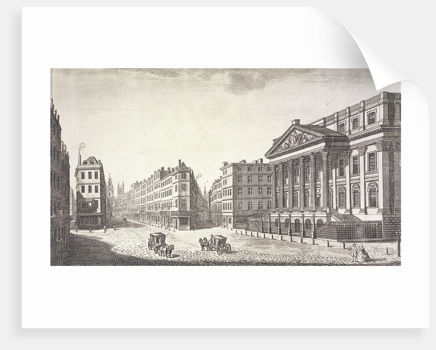 Mansion House (exterior), London by Anonymous