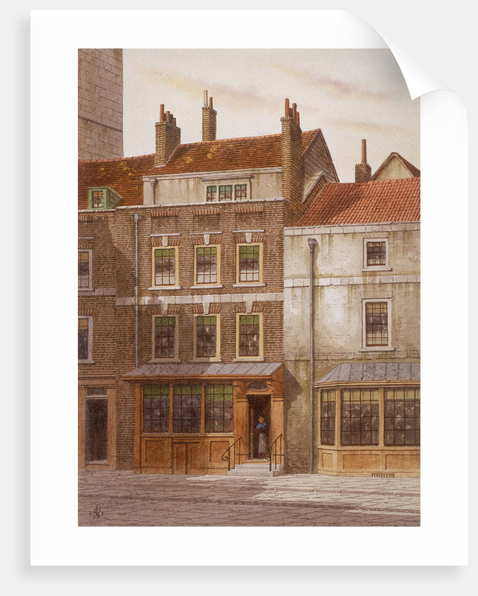 Plough Court, Lombard Street, London by
