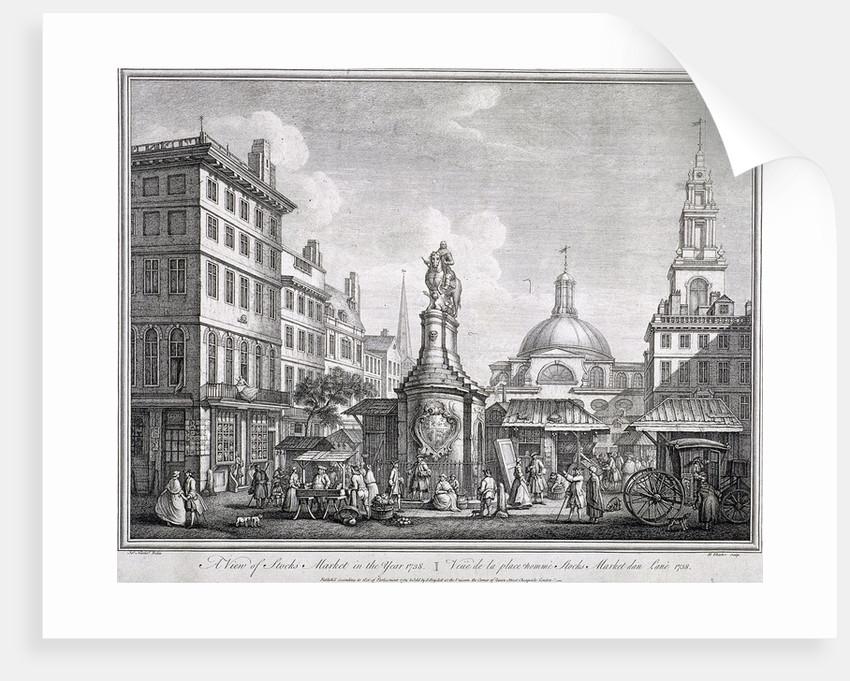 Stocks Market in Poultry, London by Sutton Nicholls
